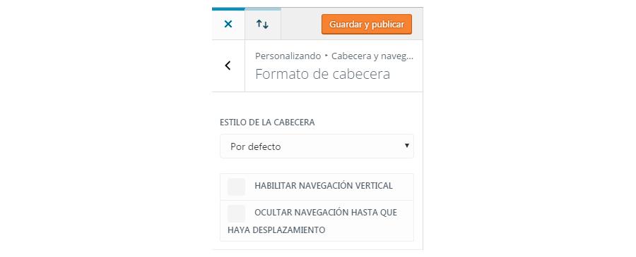 personalizador de temas-cabecera