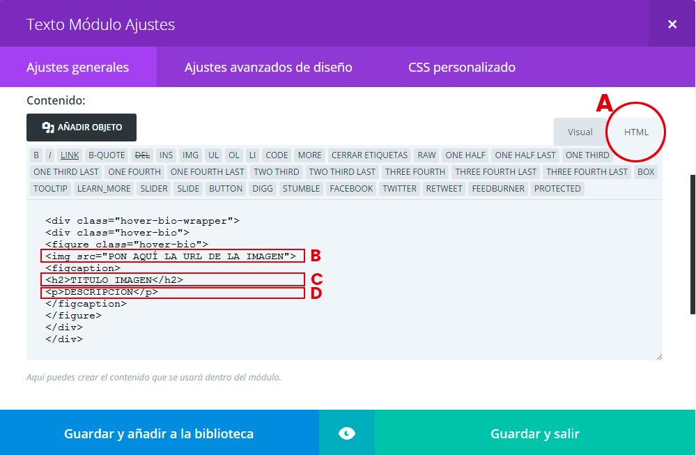 html-texto